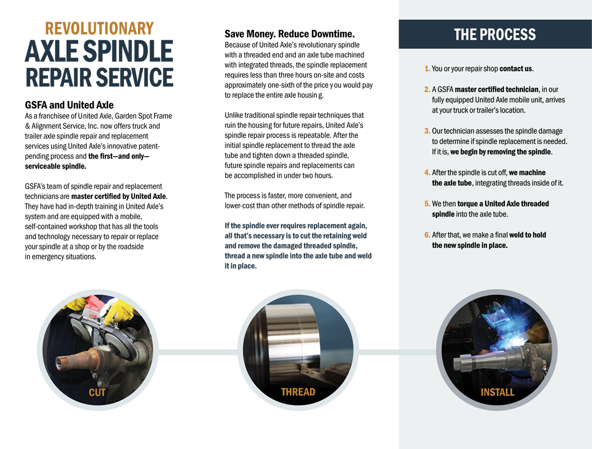 United Axle Brochure Page 2